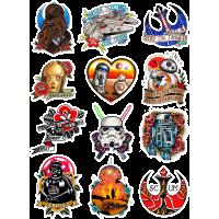Набор наклеек Звёздные Войны