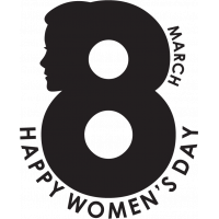 8-е Марта. Международный Женский День