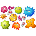 "Набор ""Вирусы / Бактерии"""