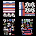 Тату-наборы к Чемпионату Мира по Футболу 2018